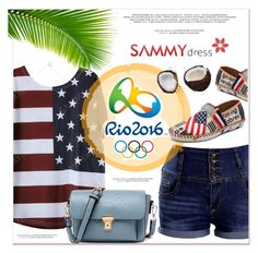 """""""Olympic Games Rio 2016"""" by janee-oss ❤ liked on Polyvore featuring Opening Ceremony, rioolympic, olympic2016 and olympicstyle"""