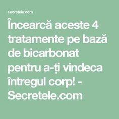Încearcă aceste 4 tratamente pe bază de bicarbonat pentru a-ți vindeca întregul corp! - Secretele.com