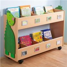 Gressco HABA® Subject Book Carts-Pricey but nice and big