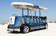 Never done it, but I really wanna try the pedalpub.
