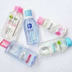 Drugstore Micellar Water Review: Biore, Garnier, L'Oreal & Nivea Garnier Micellar Water, Skin Care Routine Steps, Bright Skin, Healthy Skin Care, Face Skin Care, Body Mist, Body Spray, Loreal, Face And Body