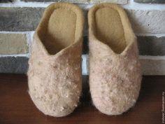 Обувь ручной работы. Ярмарка Мастеров - ручная работа Тапочки-шлепки. Handmade.