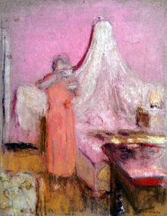 The Morning Cup of Tea - Edouard Vuillard