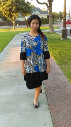 Modest Woman Faith Blouse w/Ruffles by luisalove30 on Etsy