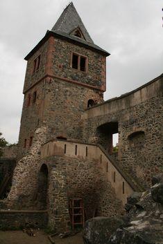 Burg Frankenstein im Odenwald - Inspiration für Mary Shelley?