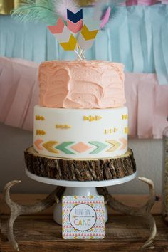 Tribal Princess Birthday Party via Kara's Party Ideas | http://KarasPartyIdeas.com (26)