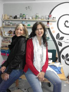 Me and Liesl Heunis my friend for 20+years from Beaula Boutique Graaff-Reinet.