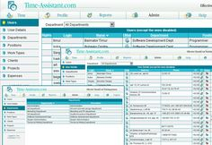 Web based time tracking software for Internet/Intranet featuring employee timesheets and various reports and project management tools that include salary calculation, invoices and expenses, online services and PDA package. Time-Assistant is professional timesheet software for your business. It is a daily time tracking solution designed to reduce the drudgery of recording, analyzing and reporting associated with everyday working routine. With Time-Assistant you can easily manage employee timeshee