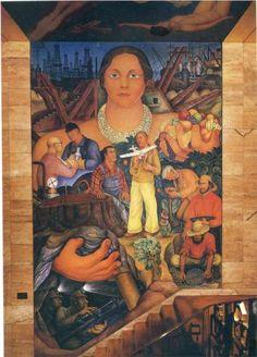 Allegory of California - Diego Rivera