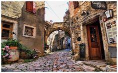 Bale City on Istria peninsula, Croatia