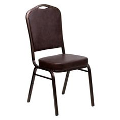 Flash Furniture FD-C01 Hercules Copper Frame Series Stacking Banquet Chair - FD-C01-COPPER-TN-VY-GG