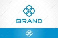 Logo for sale: Interlocking Hexagons Logo