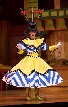 Nigel the Dame Drag Clothing, Dwarf Costume, Aladdin Costume, Bathing Costumes, Pantomime, Theatre Costumes, Captain Hook, Costume Design, Fancy Dress