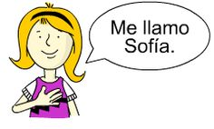 Como te llamas?  Lots of online and written activities and games. (units include, 1. Greetings 2. My name is... 3. How are you? 4. Colours 5. My things 6. Numbers 1 - 10 7. Numbers 11 - 20 8. How old are you? 9. Family 10. Talking about Family 11. Ordinal numbers 1 -10 12. School 13. Where do you live? 14. Countries and nationalities 15. Pets)