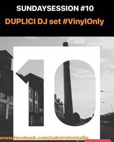 Domenica alle 18! Pompiamo un po' di tracce dal #Substrato #duplici #vynil diretta #facebook