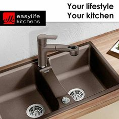 Are you tired of the same old fittings in your Kitchen? Easylife Kitchens George has this Blancolexa 8 S in three different colors selling at an unreal price of only incl. Contact us if you want to stand out from the crowd.