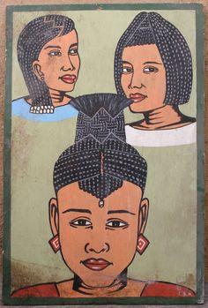 luv the barber shop art!