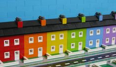 legolot: Lego Townhouses Pretty sure these are in the Castro of San Francisco.-MBG