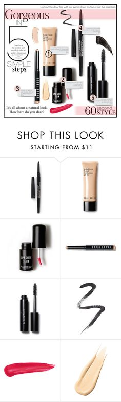 """""""60 second Style - weekend getaway"""" by gadgetgirltheoriginal ❤ liked on Polyvore featuring beauty, Smashbox, Bobbi Brown Cosmetics, Love 21, Topshop, Hourglass Cosmetics, simplemakeup, sixtysecondstyle and weekendbeauty"""
