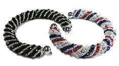 Tutorial- beads style №4 for pandora bracelet - Спиральный жгут из бисера и бусин.mp4 - YouTube