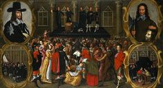 Top 10 Disturbing Paintings Of Modern Historical Atrocities - The Execution of Charles I (1649) by John Weesop