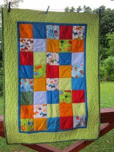 Hand Made by Vave: patchwork: Dětské deky