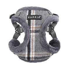 Puppia Kemp HarnessC for Pets Mlange Grey Large * Want to know more, click on the image. #DogHarnesses