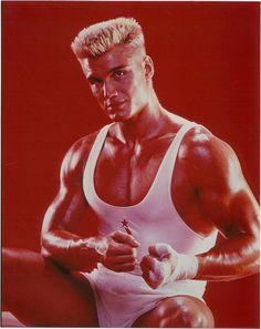 Dolph Lundgren is Ivan Drago
