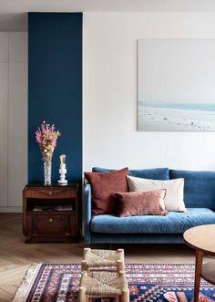 Sofá Azul: 60 Modelos e Como Usar na Decoração - Fotos