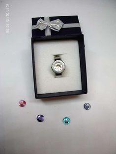 Ring mit wechselbaren Swarovski Elementen Belly Button Rings, Designer, Swarovski, Jewelry, Ring, Schmuck, Jewlery, Jewerly, Jewels