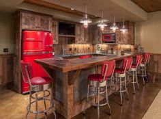 vintage home bar ideas