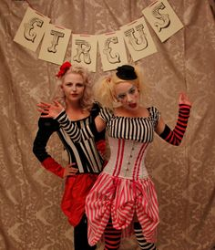 Circus Costume ideas  (in the circus)