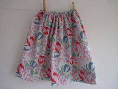 skirt made from Laura Ashley fabric