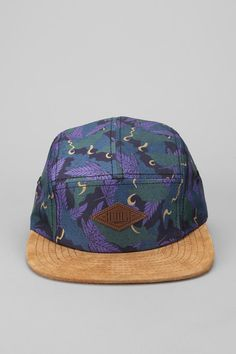 Entree Cannabis Camouflage 5-Panel Hat Online Only