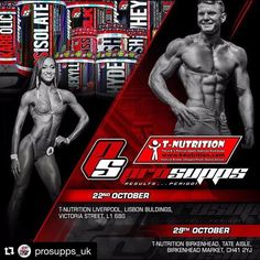 #Repost @prosupps_uk with @repostapp  Saturday the 22nd and Saturday the 29th of October at @tnutrition our athletes @whitleydavies and @mark_prosupps will be there to give you all samples and to meet and greet you all... Don't miss out!!!   #ProSupps #pstakeover #instafitness #halotropin #fitfam #fitspo #fitness #fitnessaddict #flex #bodybuilding #fenumass #Girlsthatlift #cardio #iload #vexxum #Instafit #muscle #vanish #vitalinx  #fitnessjourney #psheadliner #hydrobcaa #mrhyde #drjekyll…