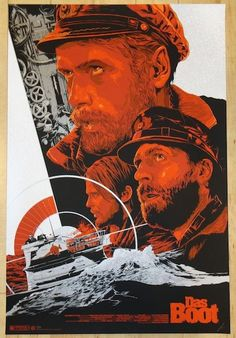 "2014 ""Das Boot"" - Silkscreen Movie Poster by Ken Taylor"