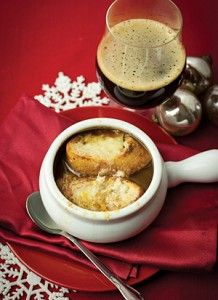 Sherry Cask Ale French Onion Soup recipe by Laraine Perri | DRAFT Magazine