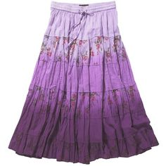 Lilac venice beach skirt ($23) ❤ liked on Polyvore featuring skirts, purple, bottoms, women's dresses & skirts, holiday skirts, cocktail skirts, evening skirts, beach skirt and joe browns