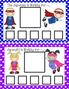 Thumbs Up: Token Systems for Behavior Management (autism / special education) Superhero Classroom Theme, Classroom Themes, Classroom Activities, Classroom Organization, Behavior Plans, Classroom Behavior Management, Behavior Charts, Superhero Behavior Chart, Classroom Expectations