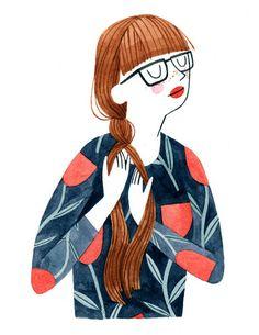 Brooke Smart Illustration