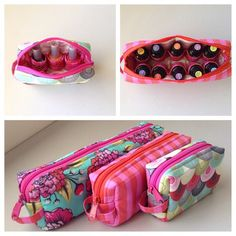 All Bottled Up pattern. Nail polish holder, essential oils carrier such as Doterra. Perfect for carrying those fragile items securely.