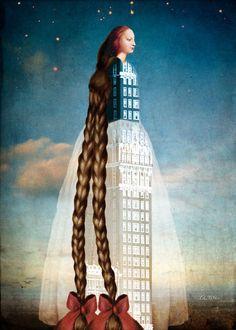 """♥ """"Rapunzel"""" - Catrin Welz-Stein"""