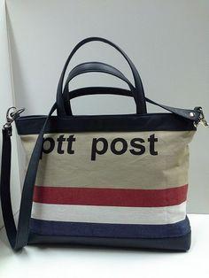 PTT bag made by STOFFELDESIGN New Bag, Bag Making, Chanel, Tote Bag, Bags, Handbags, Totes, Bag, Tote Bags
