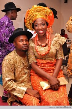 Nigerian Wedding Jacqeuline Traditional Bride Outfits Weddings