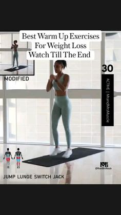 Full Body Workout Routine, Back Fat Workout, Slim Waist Workout, Workout Warm Up, Tummy Workout, Hiit Workout Videos, Gym Workout For Beginners, Gym Workout Tips, Fitness Workout For Women
