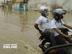 #LEIAMAIS WWW.OBSERVADORINDEPENDENTE.COM Lauro de Freitas está em estado de alerta devido à fortes chuvas segundo Prefeitura