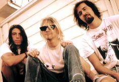 Nirvana  (Dave Grohl, Kurt Cobain and Krist Novoselic)