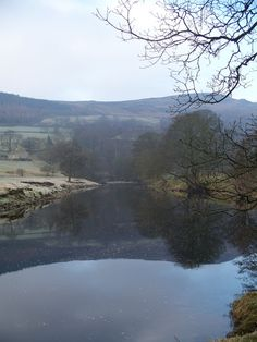 The river Wharfe just outside of Appletreewick, Yorkshire Dales