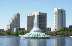 A cidade de Orlando, EUA. #Viagem #Incrivel