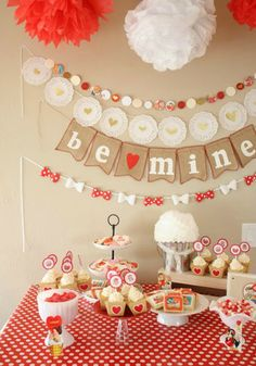 a vintage valentine party ideas